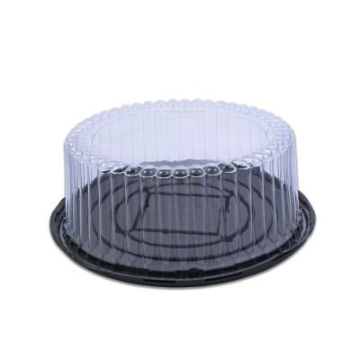 Pastripac Black Base 29cm w/ 8.5cm(H) Clear Cover | 25pcs