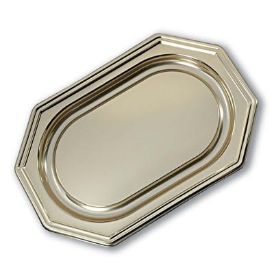 Royal Octagonal Platter 46x31cm - Gold | 50pcs