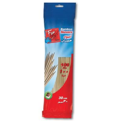 Fun® Bamboo Skewer 30cm | 100pcsx50pkts