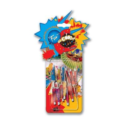 Fun® Parasol Bamboo Picks - Assorted Colours | 12pcsx24pkts