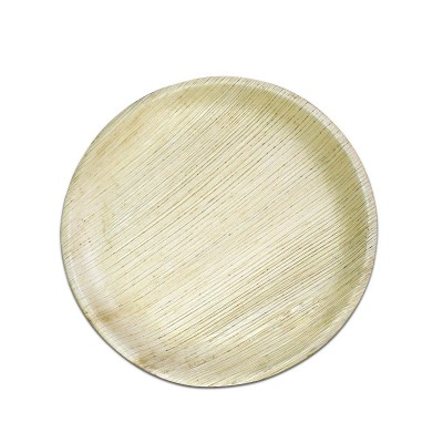 Bio Palm Leaf Round Plate ⌀10in | 10pcsx10pkts