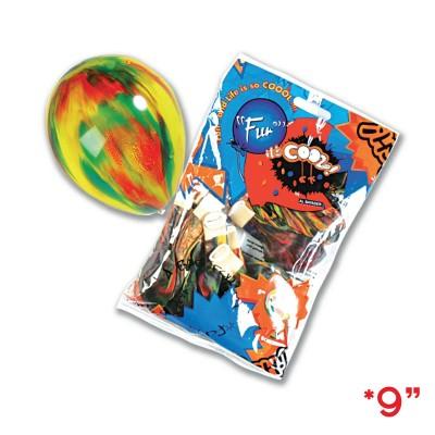 Fun® Balloons 9in - Multi-Colour | 20pcsx25pkts