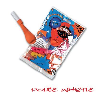 Fun® Balloons - Police-Whistle | 4pcsx24pkts