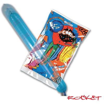 Fun® Balloons - Rocket | 20pcsx25pkts