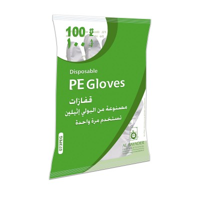 HDPE Gloves - Clear Embossed | 100pcsx100pkts