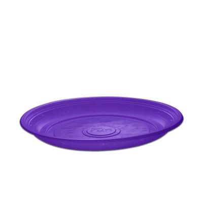 Roundpac Round Plate ⌀26cm - PP/Violet Deluxe   25pcsx10pkts