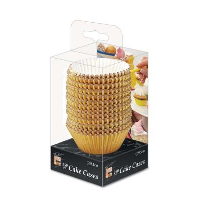 Fun® Paper Cake Case ⌀9.5cm - Gold | 250pcsx25pkts