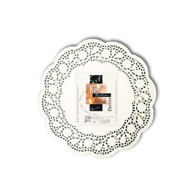 Fun® Round Doily ⌀6.5in - White | 250pcsx8pkts
