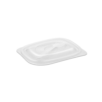 Tutipac Dome Lid w/ Spork for 08/16oz Plain Hot Multipurpose Containers PP | 300pcs