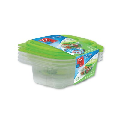 Fun® Multipurpose Containers 12oz + Lid | 4pcsx 40pkts