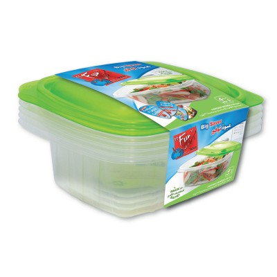 Fun® Multipurpose Containers 32oz + Lid | 4pcsx 40pkts