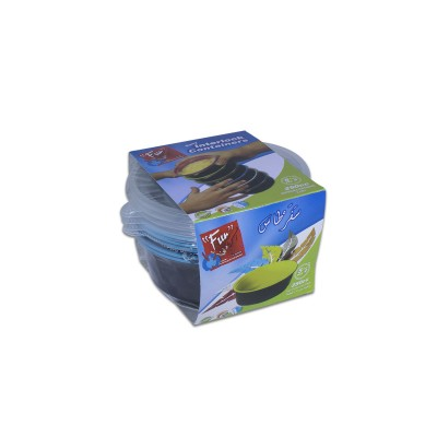 Fun® Round Cont. w/ Screw Base 250cc - Assorted Colors | 5pcsx30pkts