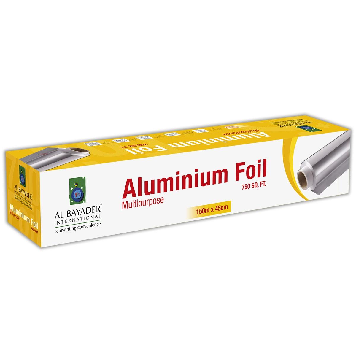 Aluminium Foil 45cmx150m - 14mic. | 6rls