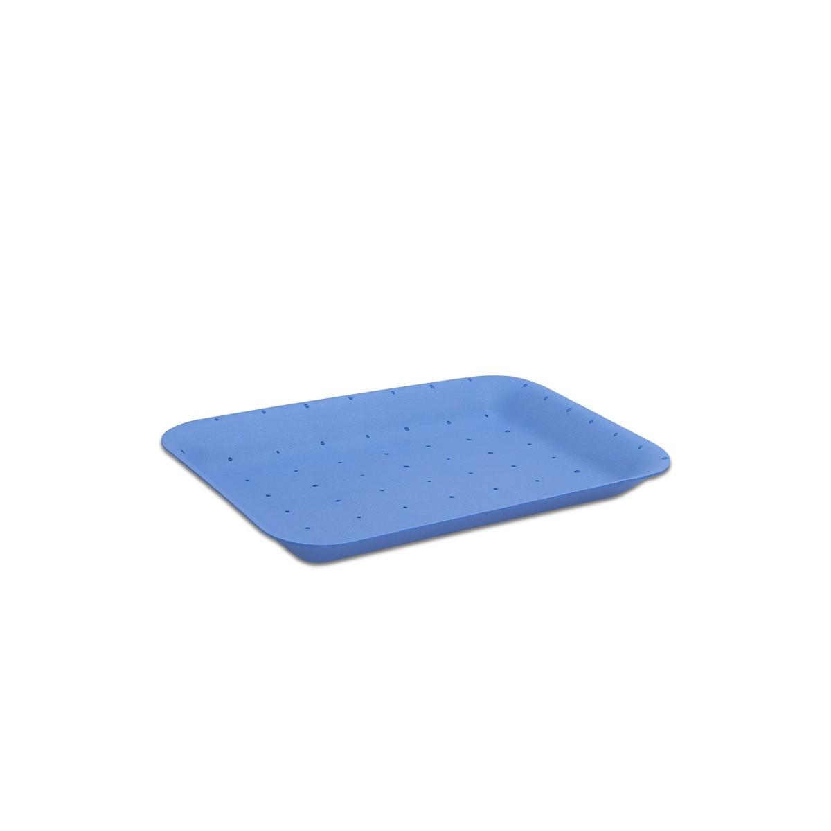 Foam Tray 216x152x20mm - Absorbent/Blue | 500pcs
