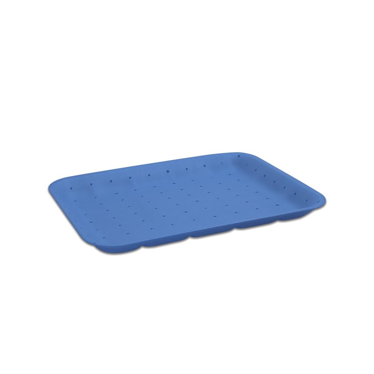 Foam Tray 265x189x20mm - Absorbent/Blue | 250pcs