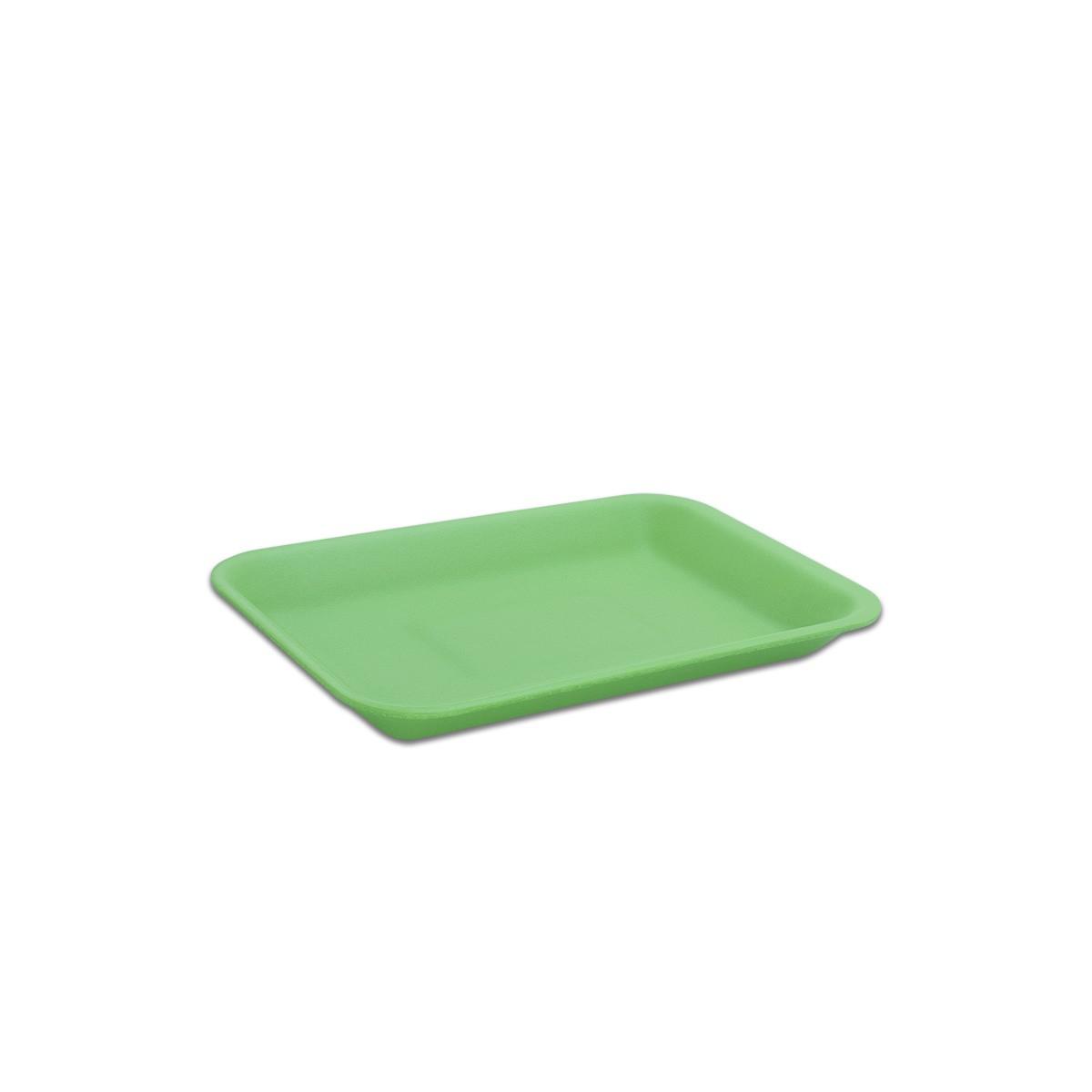 Foam Tray 216x152x20mm - Green | 500pcs