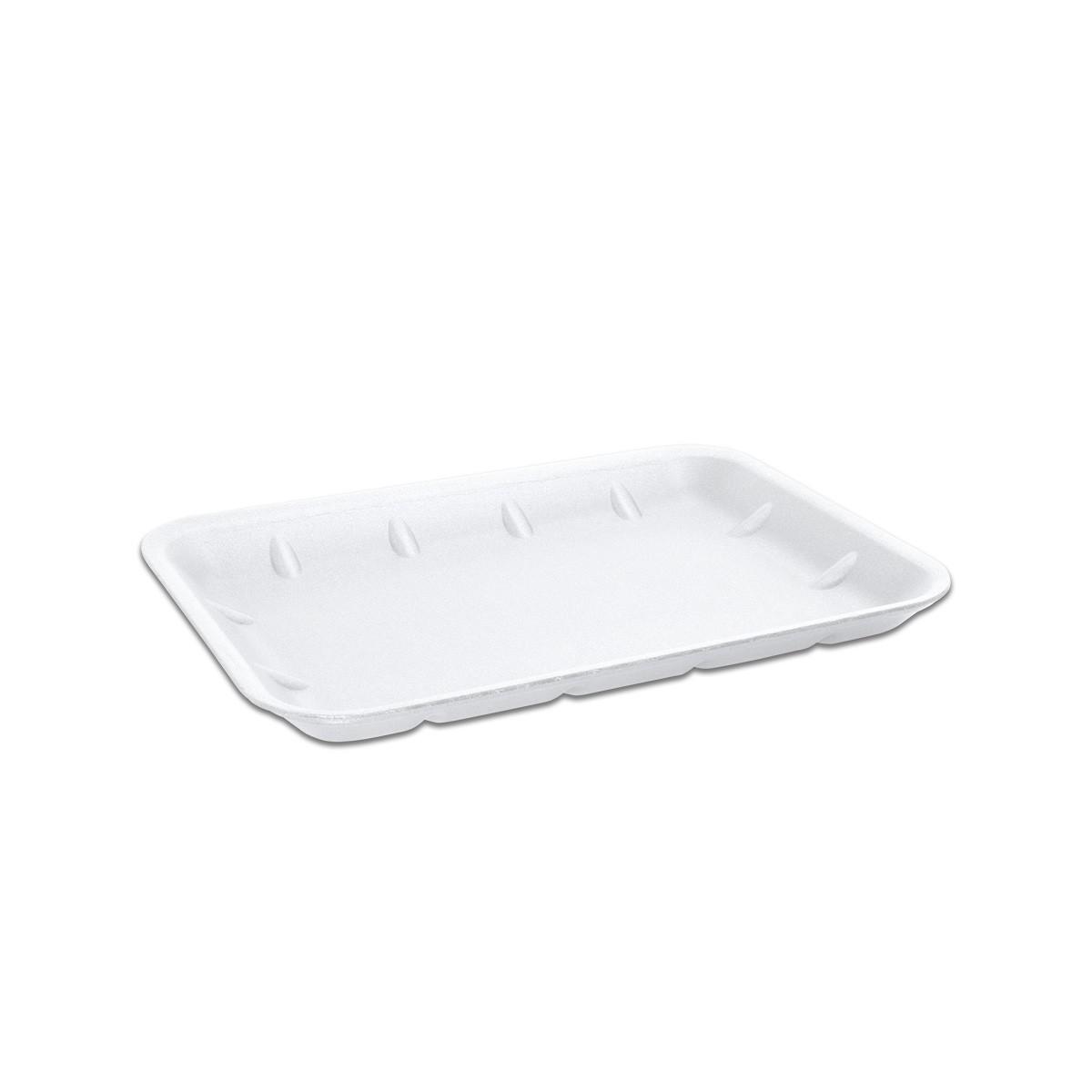 Foam Tray 265x189x20mm - White | 250pcs