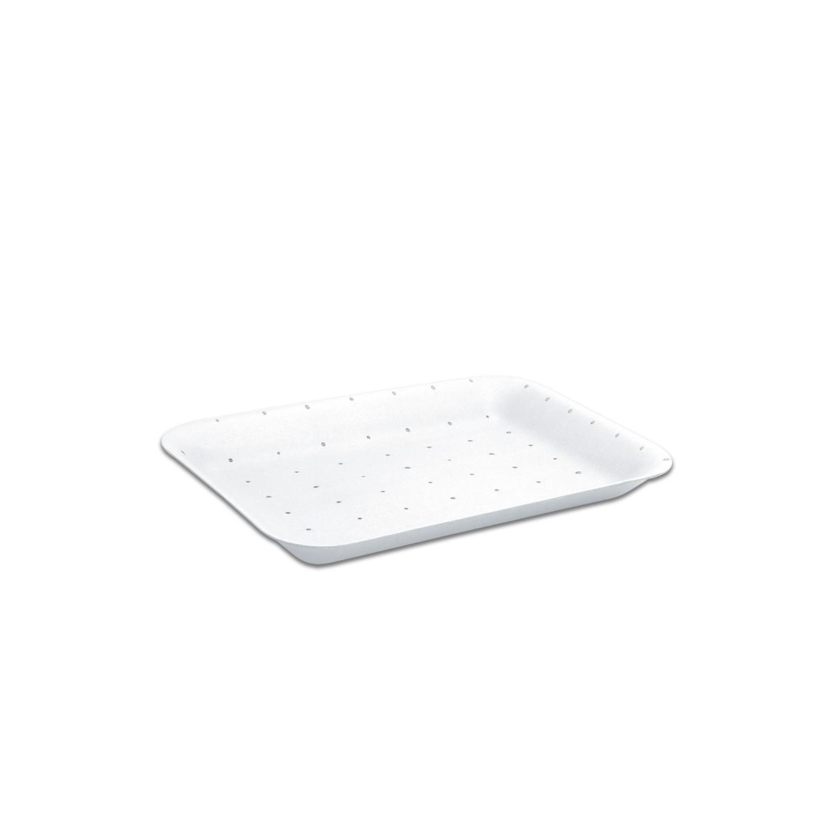 Foam Tray 216x152x20mm - Absorbent/White | 500pcs