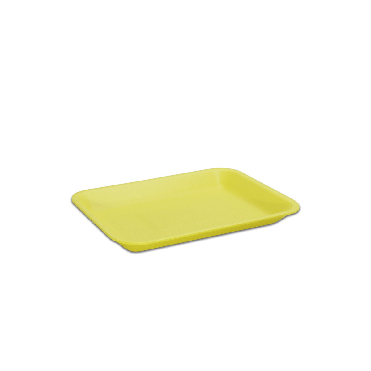 Foam Tray 216x152x20mm - Yellow | 500pcs