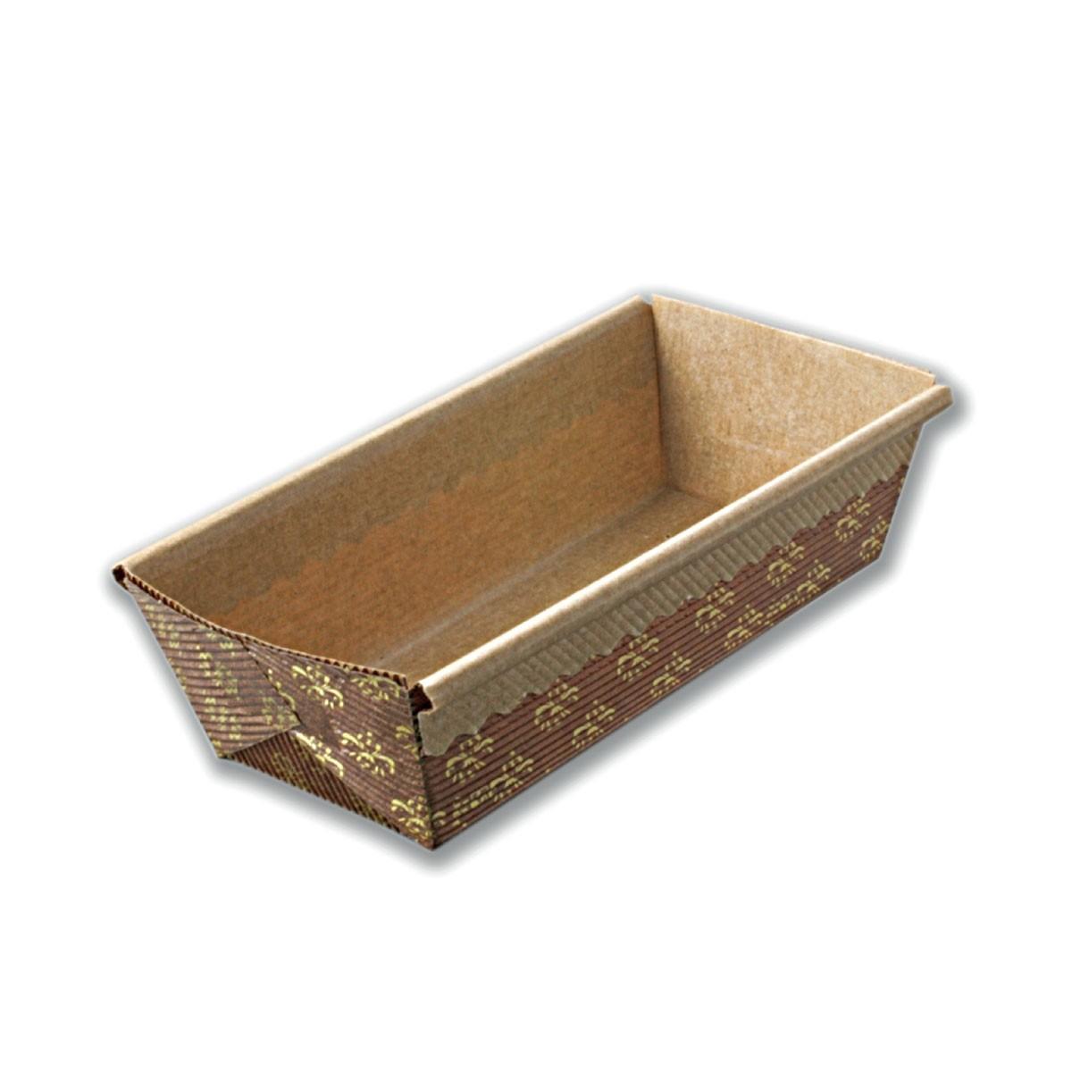Rectangular Paper Baking Mould 150x65x50mm | 1000pcs