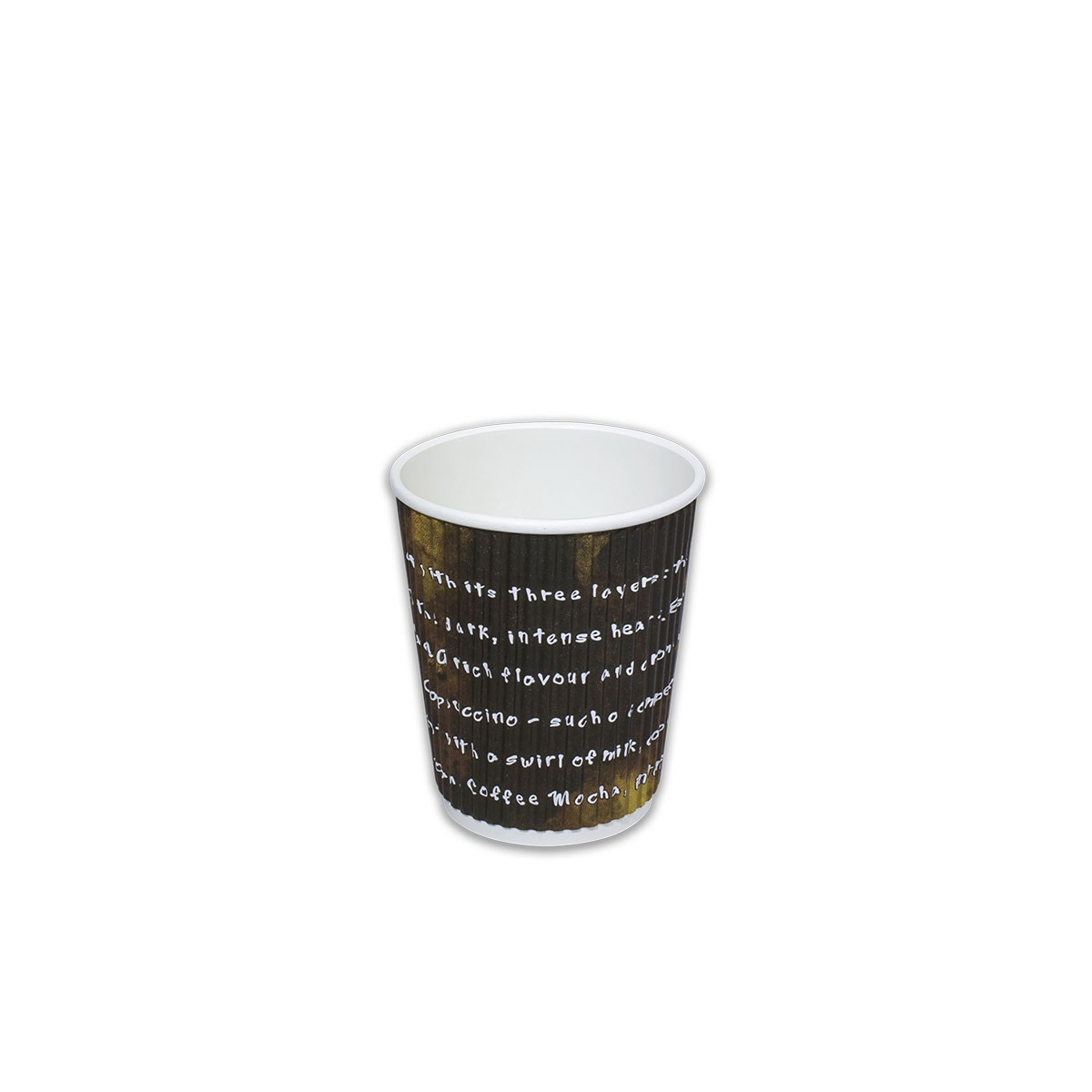 Ruffles Insulated Paper Cup 8oz | 1000pcs