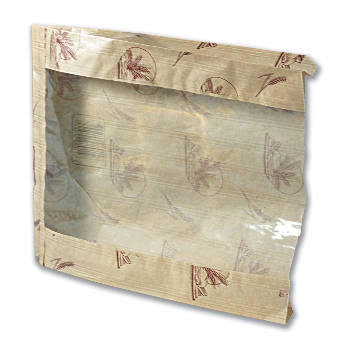 Paper Bread Bag w/ Window 30x23+4.2cm | 1000pcs