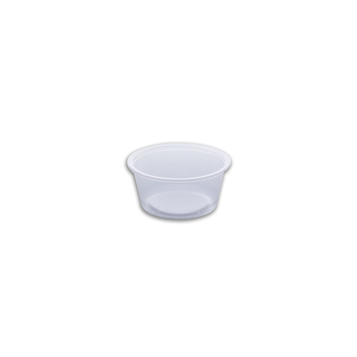 Tinypac Clear Round Portion Cup 100cc - | 2500pcs