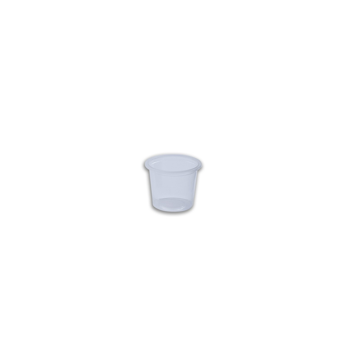 Tinypac Clear Round Portion Cup 30cc | 5000pcs