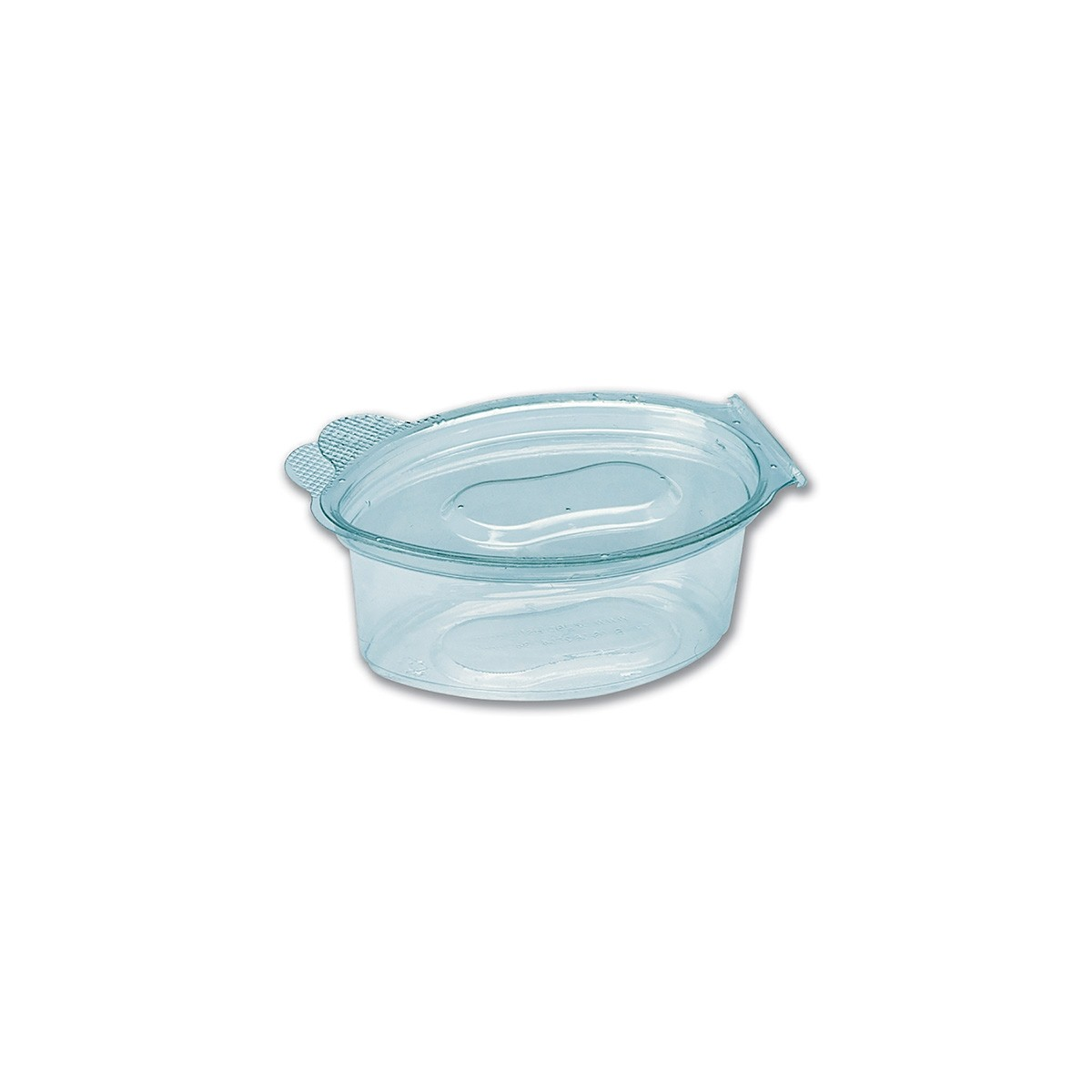 Tinypac Clear Leaf-Shaped Portion Cup w/ Lid 30cc| 2000pcs
