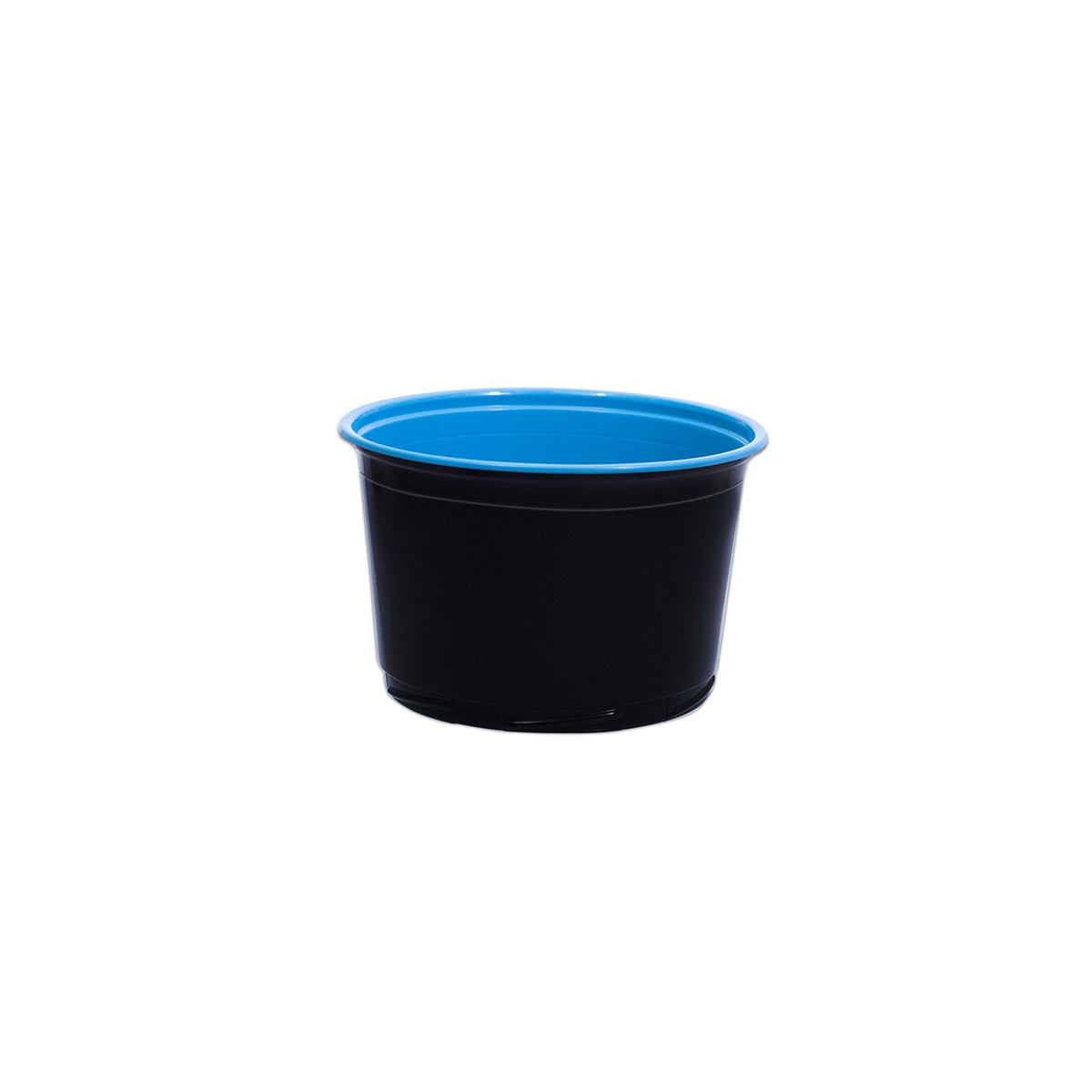 Towerpac Round Cont  w/ Screw Base 500cc - Black/Blue - PP