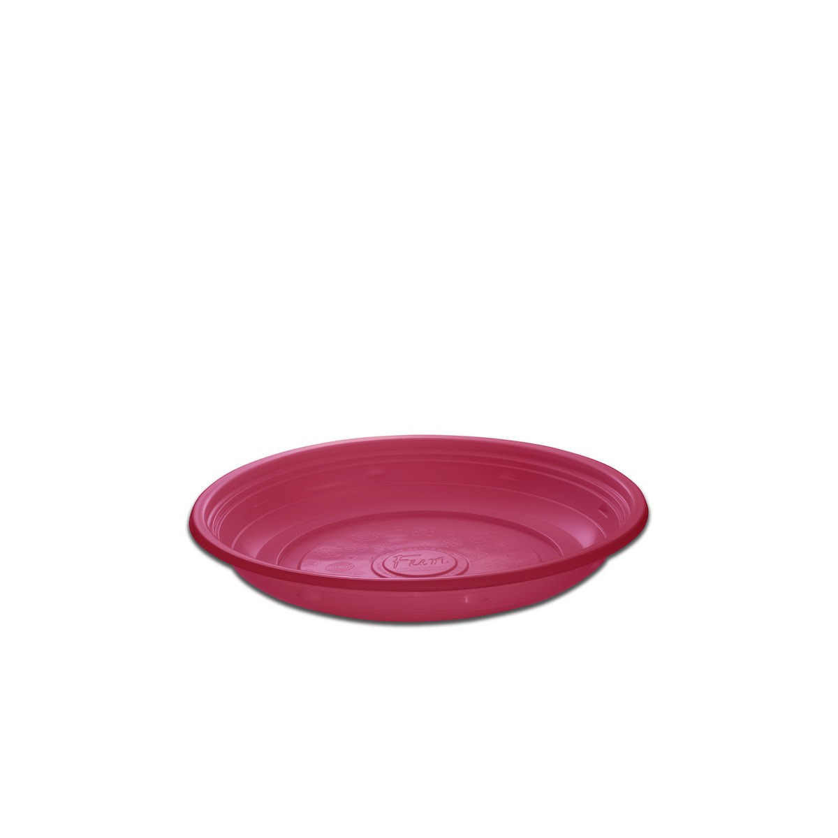 Roundpac Round Plate ⌀18cm - PP/Pink Deluxe | 25pcsx10pkts