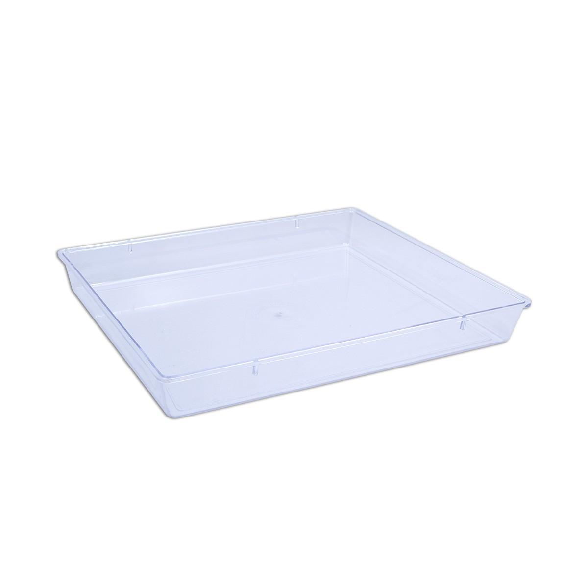 Cristalpac Clear Rectangular Plastic Box (Cap:1.5kgs) - PS | 60pcs