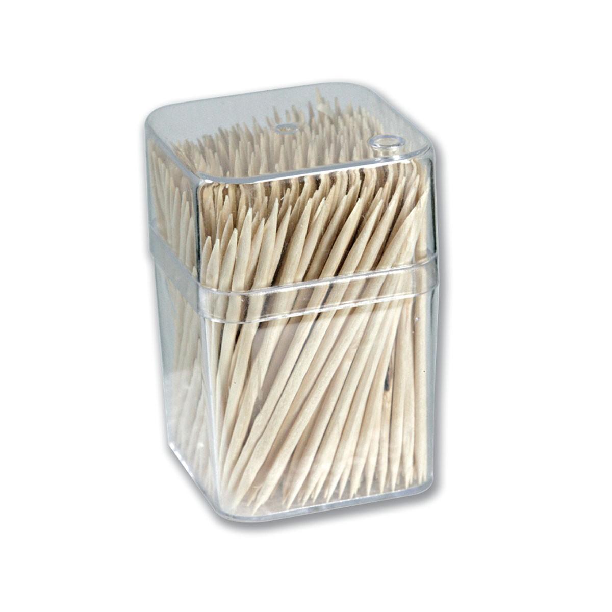 Rounded Wooden Toothpick 6.5cm   300pcsx5Bxsx12pkts
