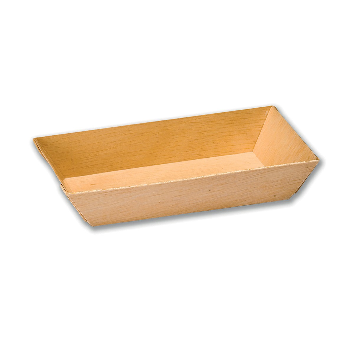 Rectangular Wooden Container 155x87x28mm | 400pcs