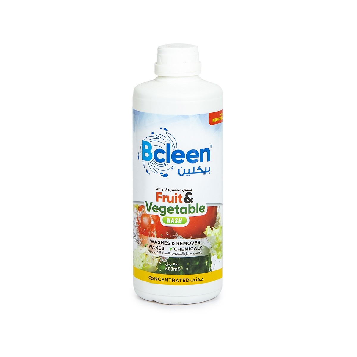 Bcleen® Fruit & Vegetable Wash 500ml - Concentrated | 24pcs