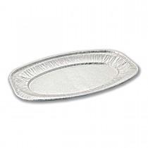 Oval Aluminium Platter 548x359x24mm | 50pcs