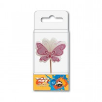 Fun® Birthday Candle - Butterfly   1pcx10pkts