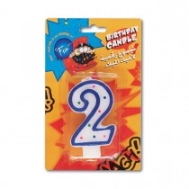 Fun® Birthday Candle - Numeral 2 | 1pcx24pkts