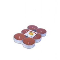 Fun® Scented Maxi-Tealight Candles 5.8x2cm - Orange | 6pcsx6pkts
