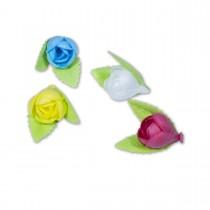 Wafer Flower - Rosette   55pcs
