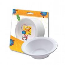 Fun® Foam Bowl 12oz - White | 20pcsx50pkts