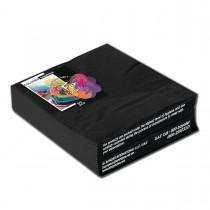 2-Ply Napkin 40x40cm - Black | 50pcsx20pkts