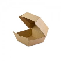 Brown Kraft Burger Box 105x105x85mm | 250pcs