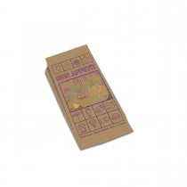 Greaseproof Brown Paper Chicken Bag 28x13+8cm | 500pcs