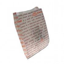 Greaseproof Printed Paper Bag 265x195+50mm | 1000pcs