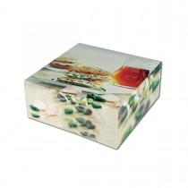 Cardboard Cake Box 23x23x10cm - Sweet Delight | 50pcs