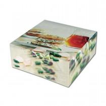 Cardboard Cake Box 26x26x10cm - Sweet Delight | 50pcs