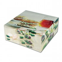Cardboard Cake Box 29x29x10cm - Sweet Delight | 50pcs