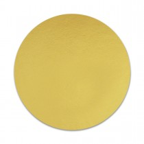 Rectangular Cardboard Cake Base 30x20cm Gold | 50pcs