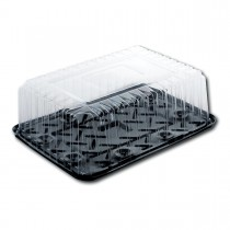 Pastripac Plastic Pastry Base 480x350x110mm + Lid | 25pcs